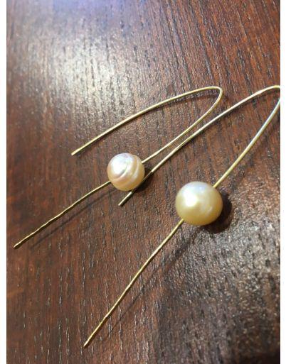 Σκουλαρίκι με μαργαριτάρι