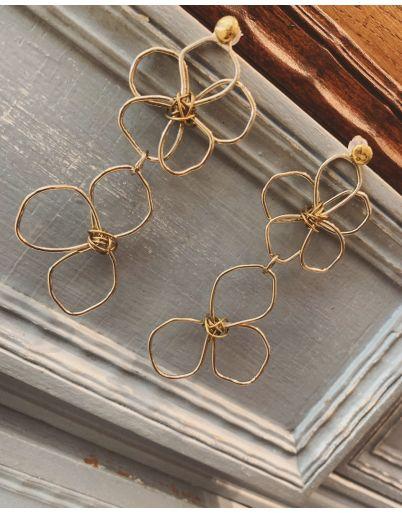 Σκουλαρίκια μαργαρίτες