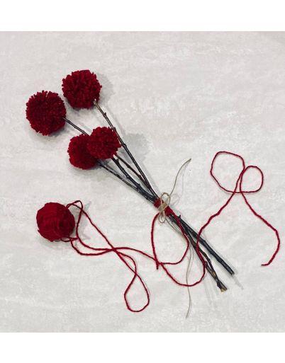 Pom pon bouquet