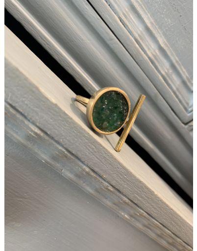 Δαχτυλίδι με  κρύσταλλα