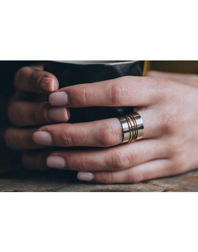 Δίχρωμο δαχτυλίδι