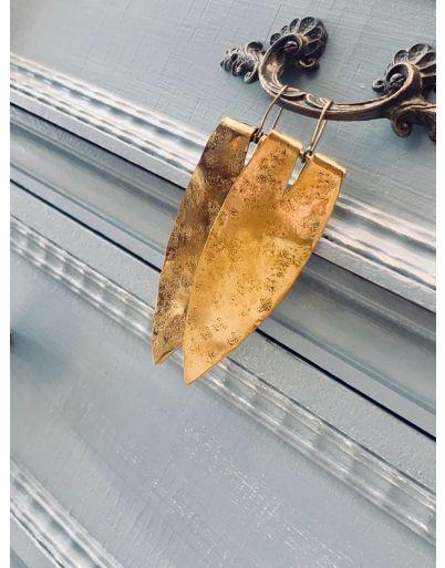 Σκουλαρίκι φύλλο