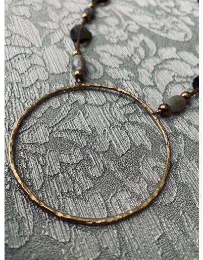Labradorite circle
