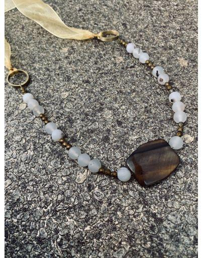Ορειχάλκινοι κρίκοι με πέτρες