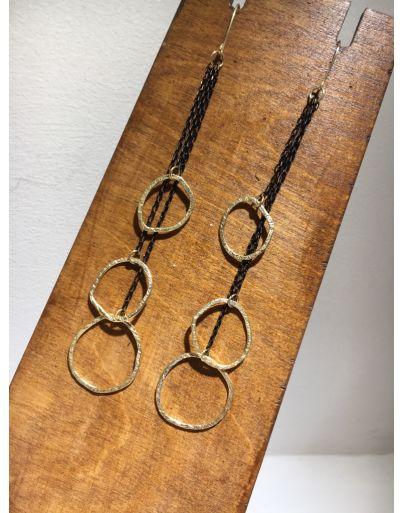 Σκουλαρίκια με αλυσίδα